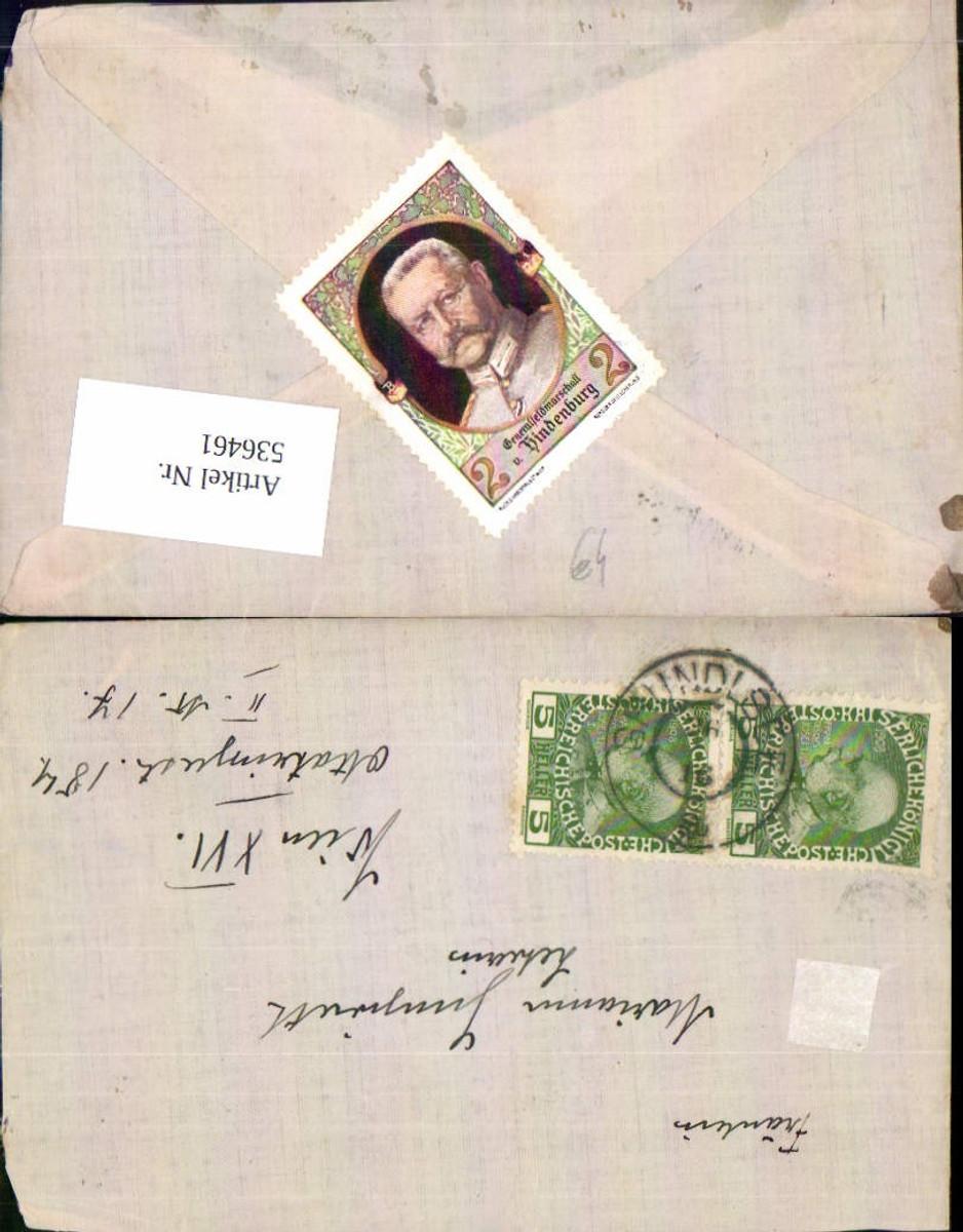 536461,Stempel Brief Grundlsee n. Wien Ottakring 1916 günstig online kaufen