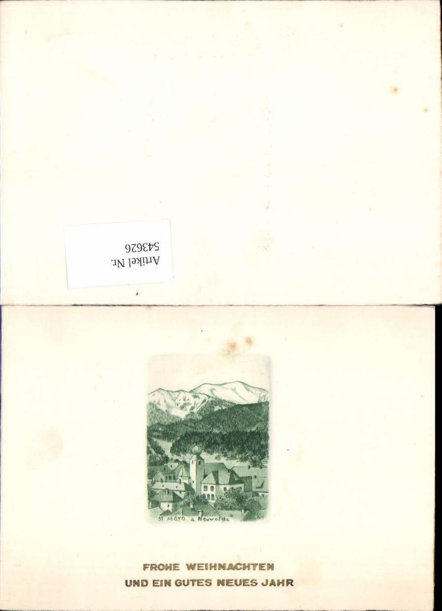 543626,Original Radierung Klappbar St. Aegyd am Neuwalde günstig online kaufen