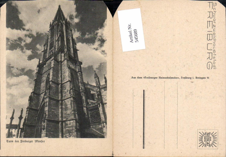 545689,Freiburg im Breisgau Blatt a. Freiburger Heimatkalender Münster günstig online kaufen