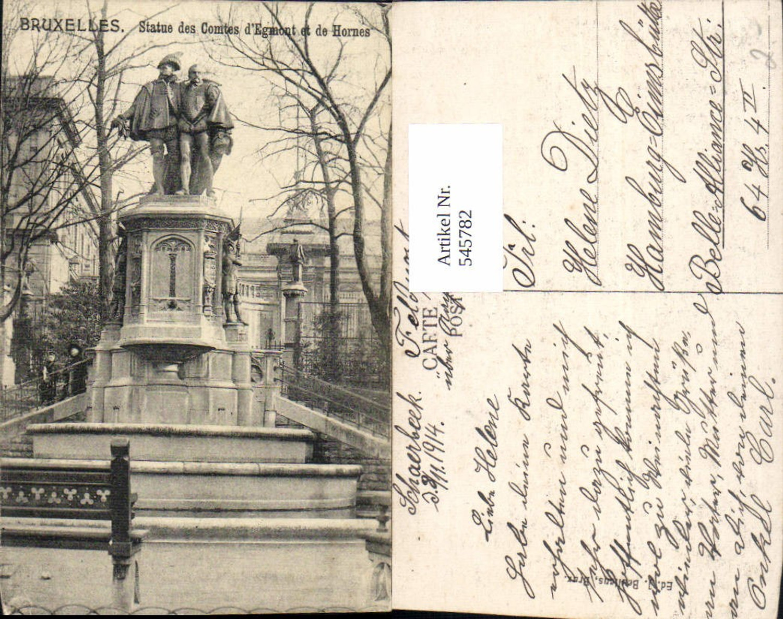 545782,Belgium Brüssel Bruxelles Statue des Comtes Egmont et de Hornes günstig online kaufen