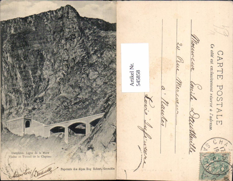 545858,France Dauphine Viadukt Tunnel Clapisse Grenoble günstig online kaufen