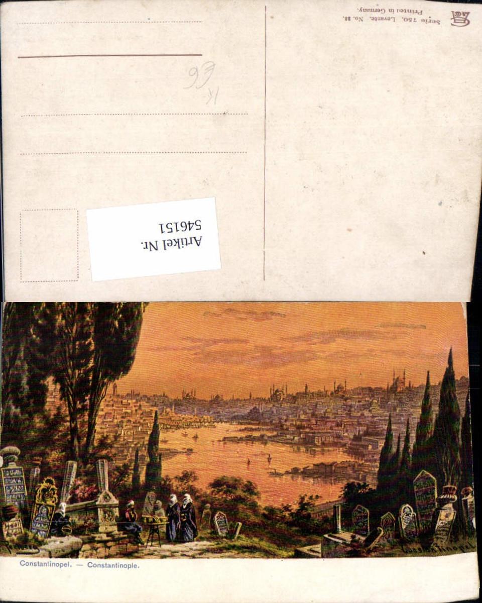 546151,Turkey F. Perlberg Constantinople Constantinopel Istanbul Levante  günstig online kaufen