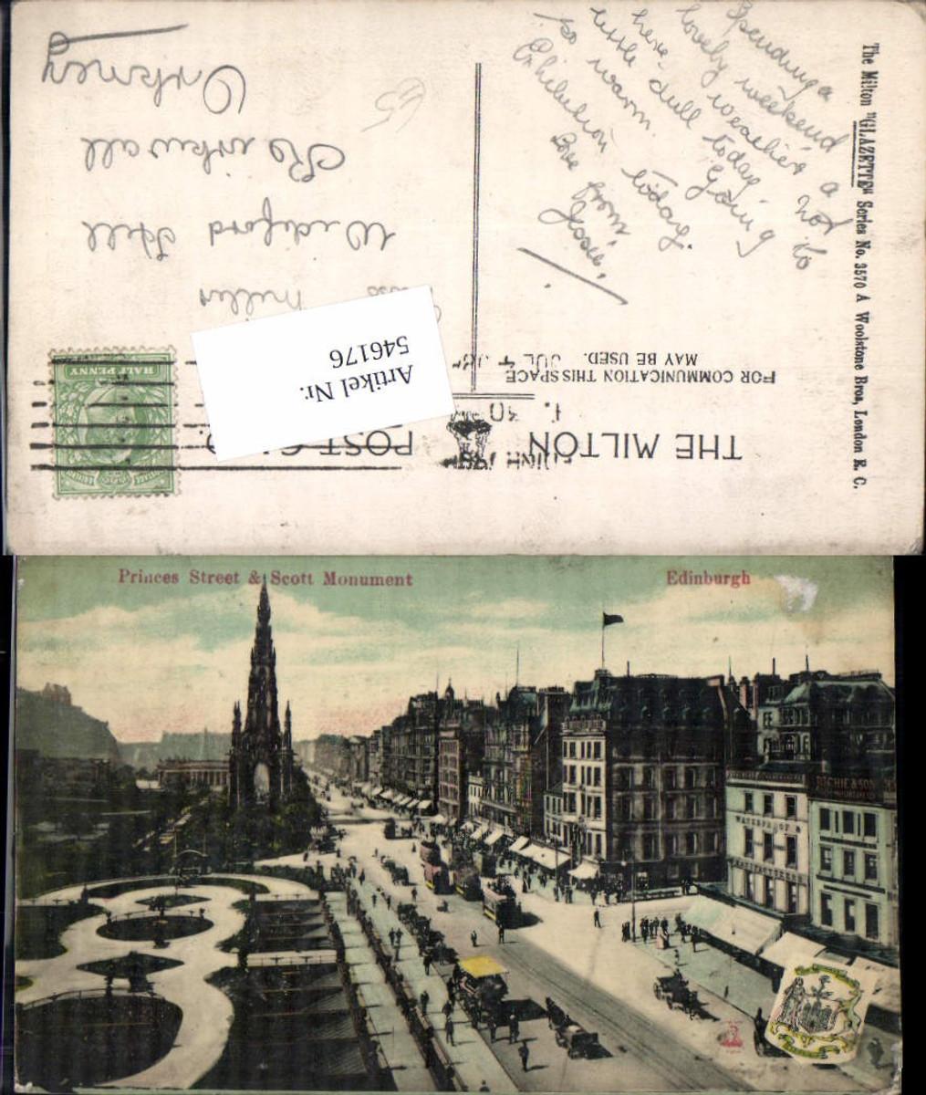 546176,Scotland Edinburgh Princess Street Scott Monument günstig online kaufen