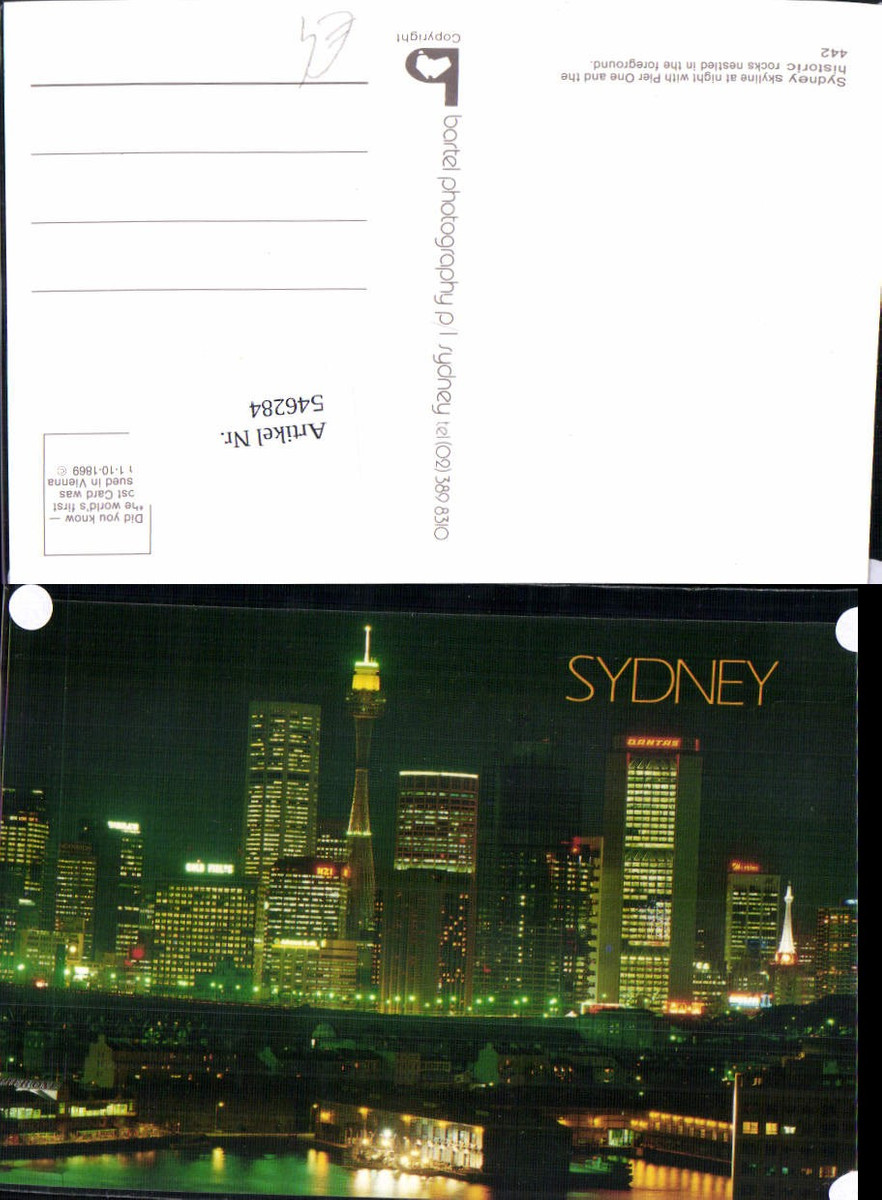 546284,Australia Sydney Skyline Hochhäuser Wolkenkratzer Pier One günstig online kaufen