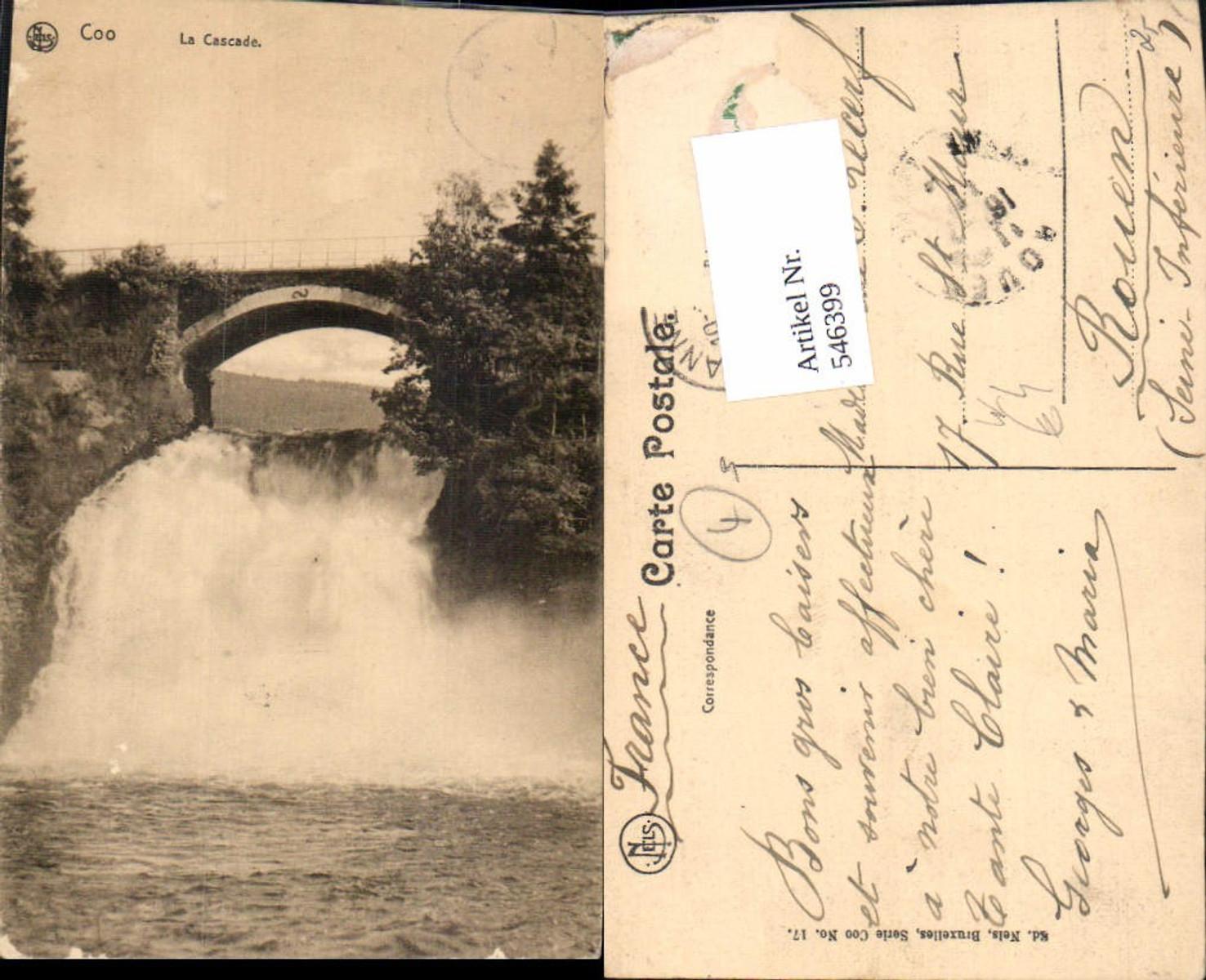 546399,Belgium Coo Wasserfall Stavelot günstig online kaufen