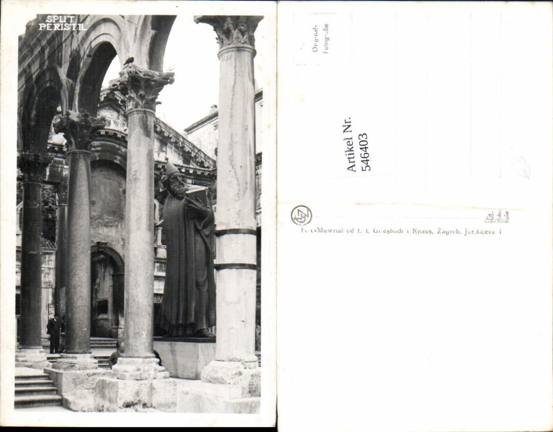 546403,Croatia Split Peristil Säulen  günstig online kaufen