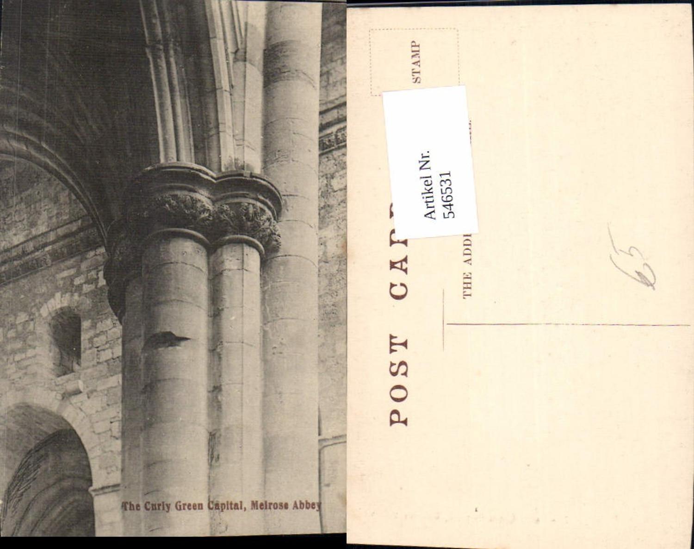 546531,Scotland Melrose Abbey Curly Green Capital günstig online kaufen