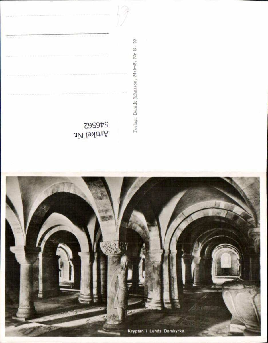546562,Sweden Lund Lunds Krypta Kirche günstig online kaufen
