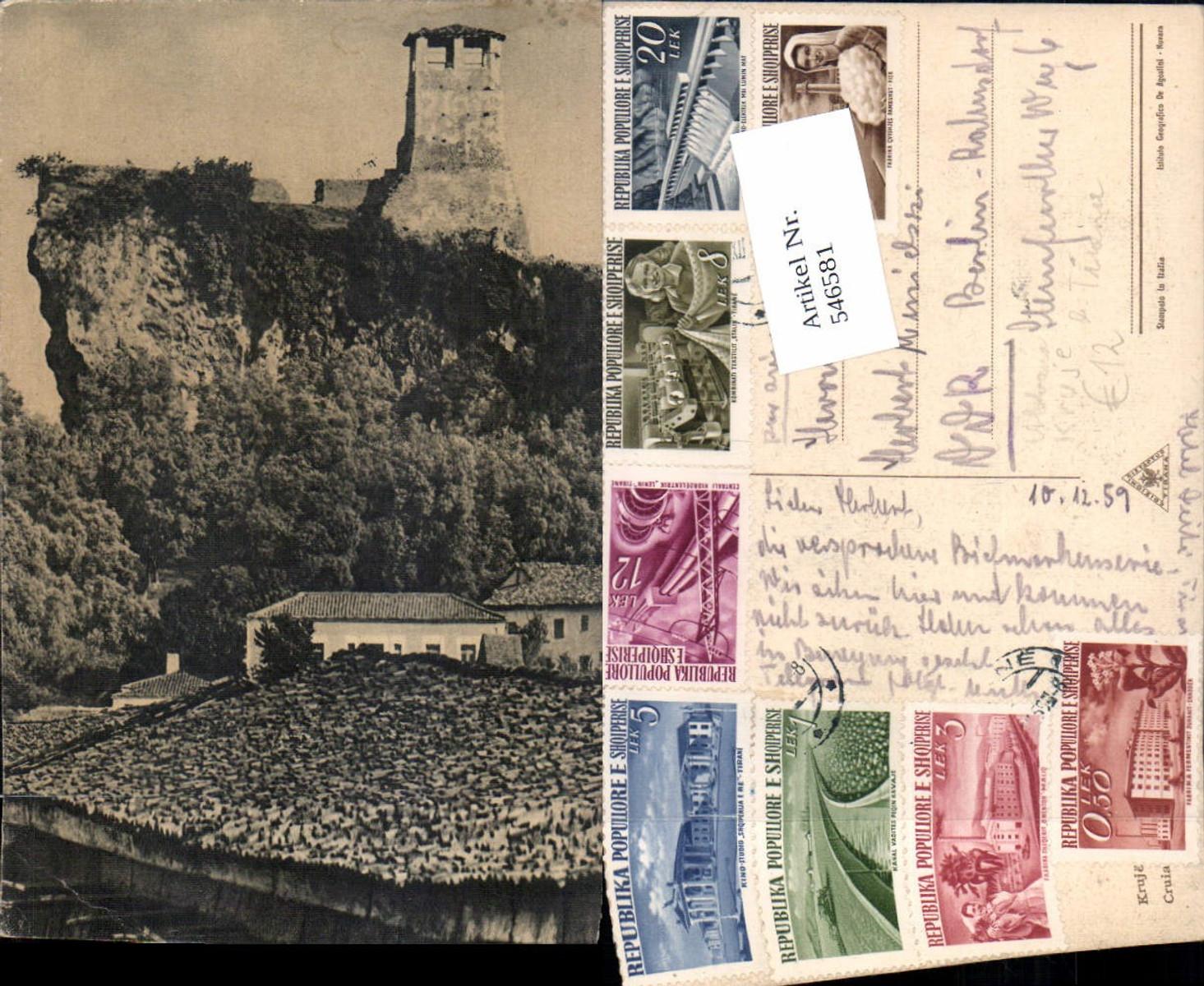 546581,Albania Kruje Kruja b. Tirana Abbazia Burg  günstig online kaufen