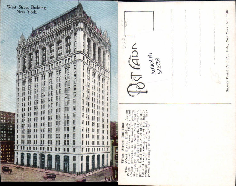 546799,New York City West Street Building günstig online kaufen