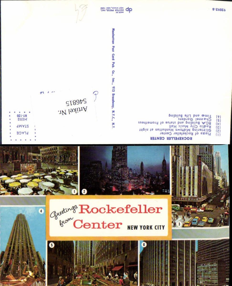 546815,New York City Rockefeller Center  günstig online kaufen