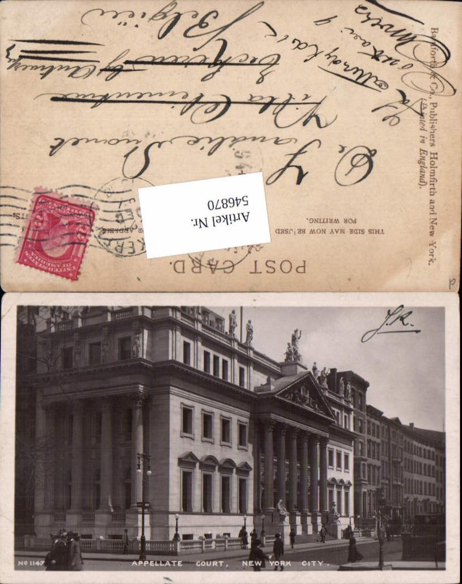 546870,New York City Foto-AK Appellate Court Streetview günstig online kaufen