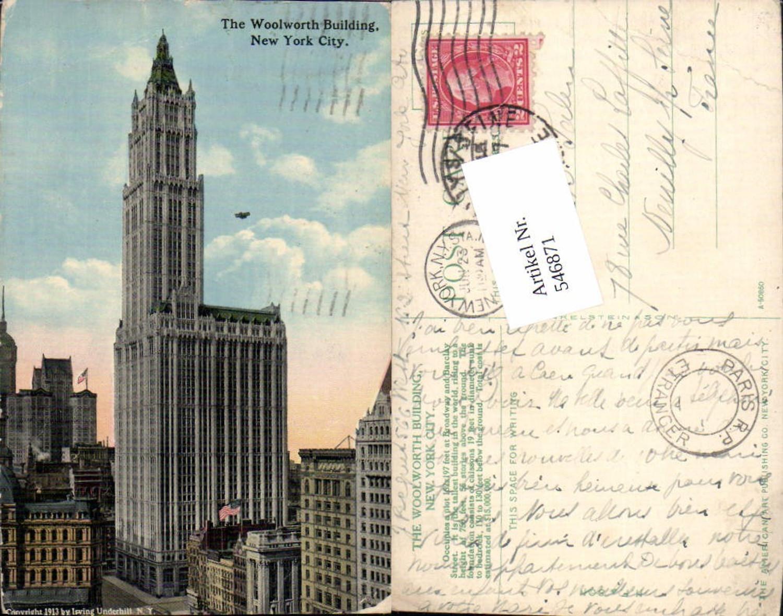 546871,New York City The Woolworth Buidling günstig online kaufen
