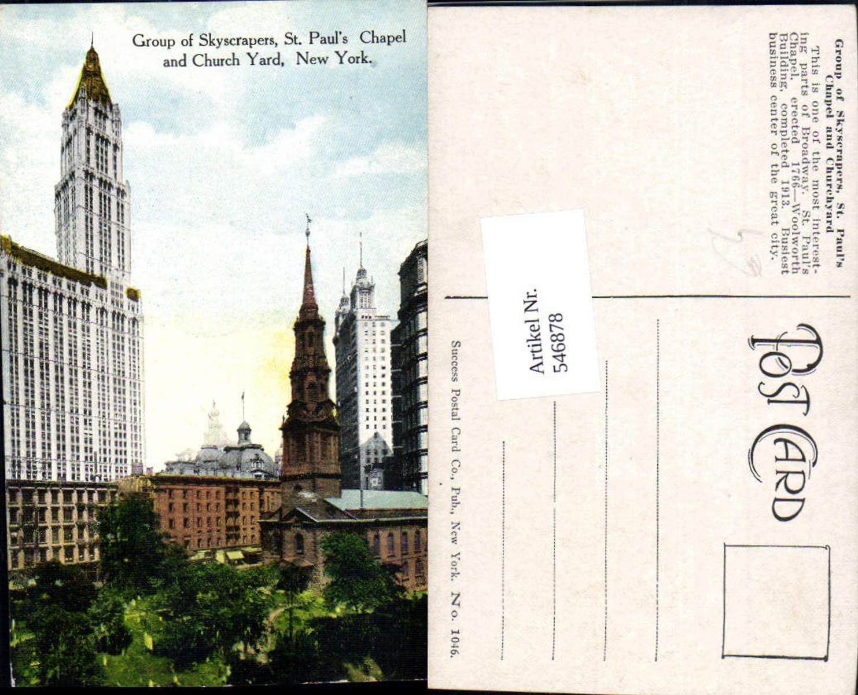 546878,New York City St. Pauls Chapel Church Yard günstig online kaufen