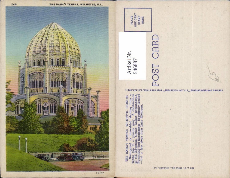 546887,Illinois Wilmette Baha temple günstig online kaufen