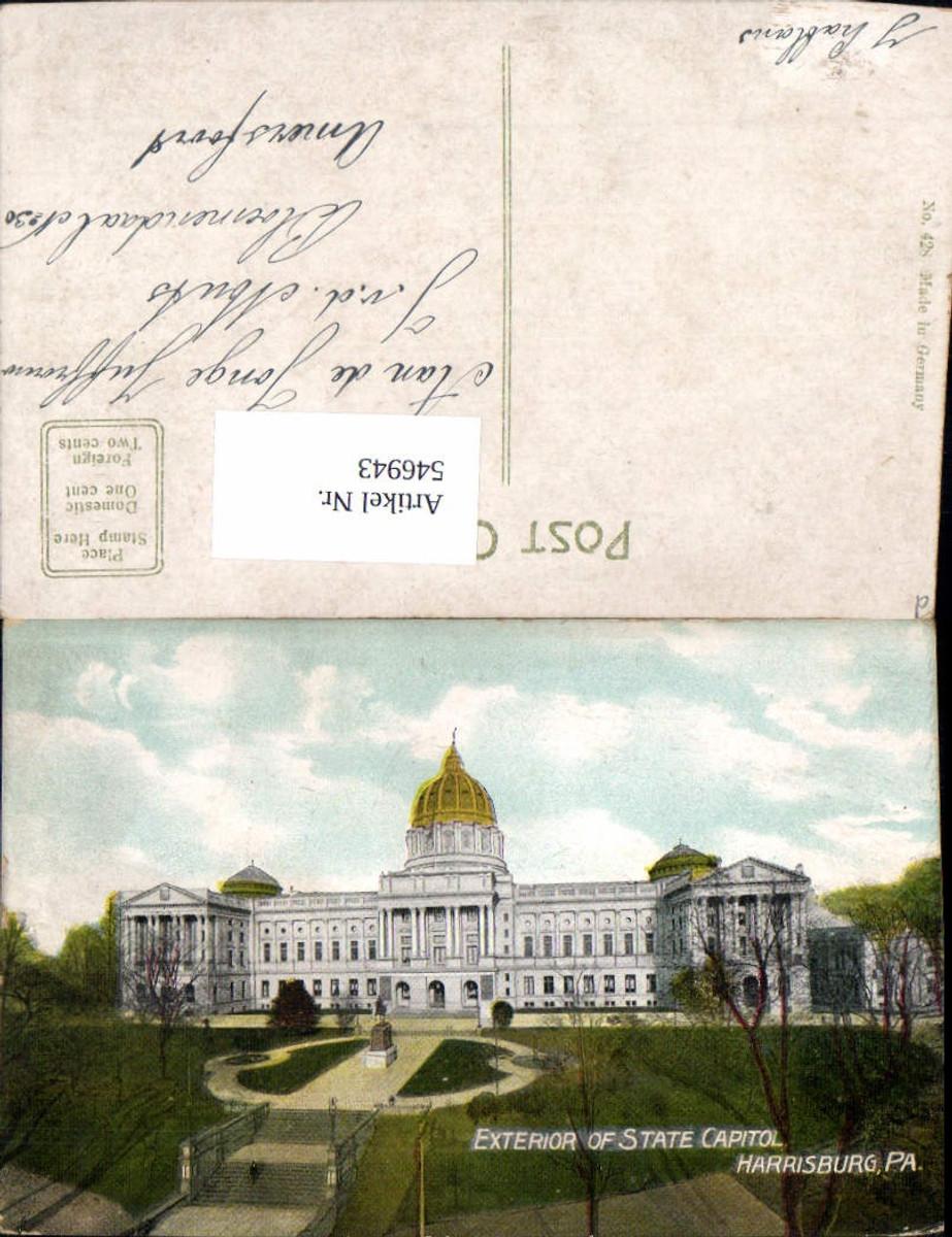 546943,Pennsylvania Harrisburg Exterior of State Capitol Dauphin County günstig online kaufen