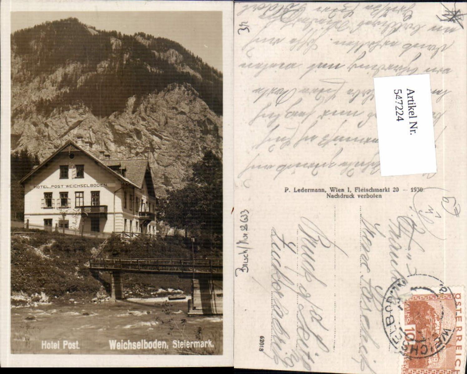 547224,Hotel Post Weichselboden Mariazell pub Ledermann  günstig online kaufen