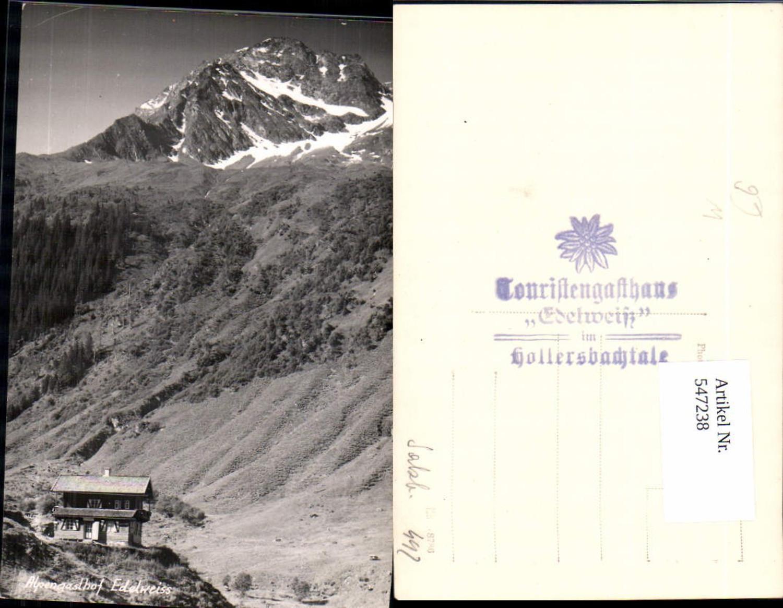 547238,tolle Foto-AK Alpengasthof Edelweiss Hollersbach Mittersill im Pinzgau  günstig online kaufen