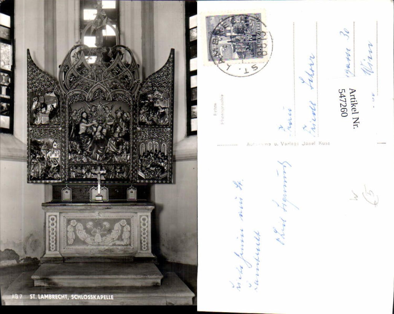 547260,St. Lambrecht Schlosskapelle Altar  günstig online kaufen