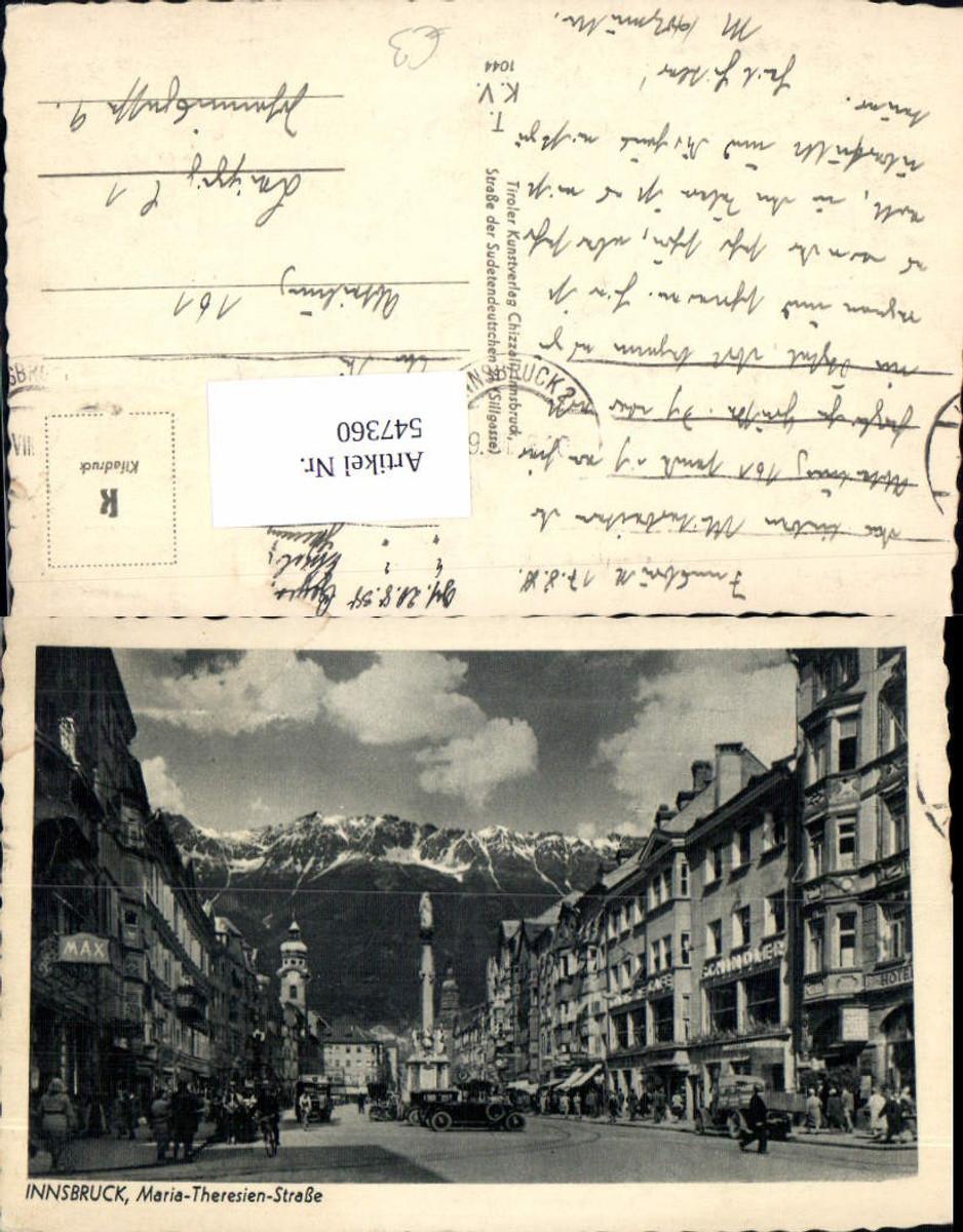 547360,Innsbruck Maria Theresienstrasse Oldtimer Auto günstig online kaufen