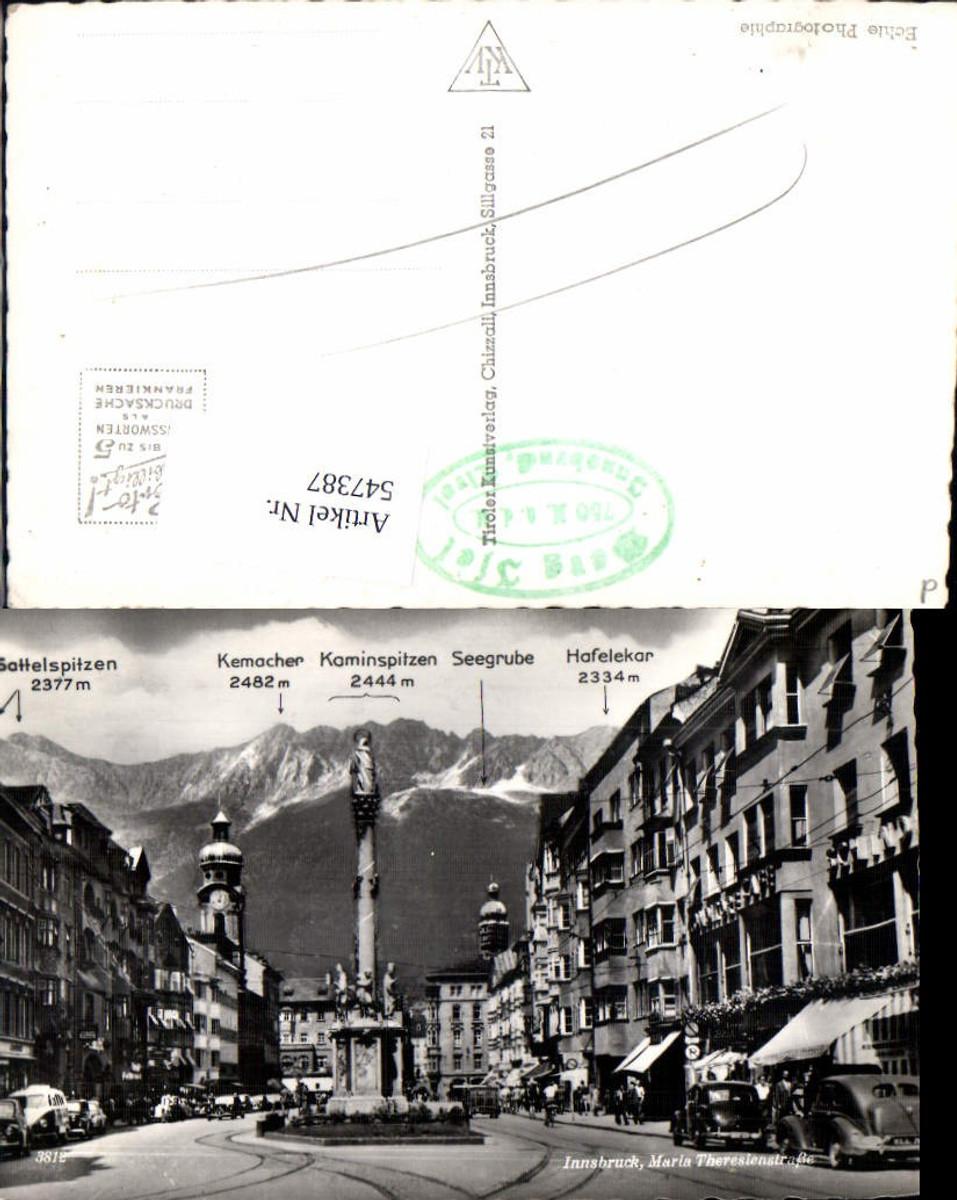 547387,Innsbruck Maria Theresienstrasse Vw Bully Oldtimer  günstig online kaufen