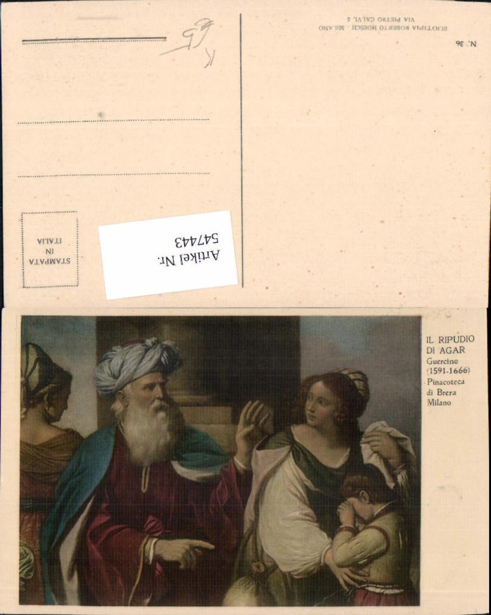 547443,Künstler AK Guercino Agar Breta Milano günstig online kaufen