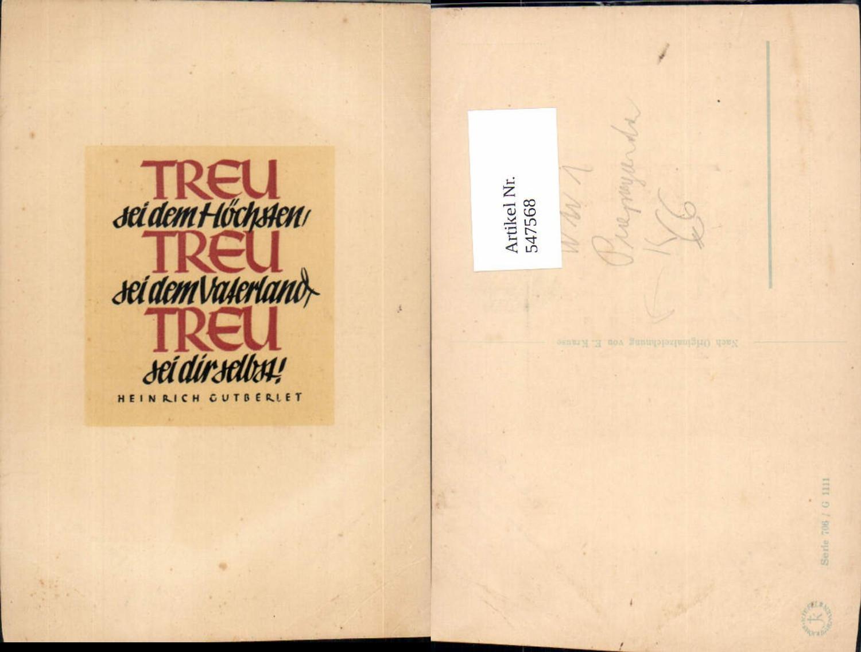 547568,E. Krause K.K. Armee Spruch Vaterland Heinrich Gutberiet  günstig online kaufen