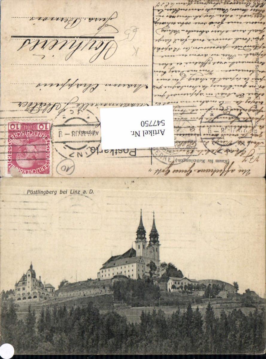 547750,tolle AK Linz an der Donau Pöstlingberg  günstig online kaufen