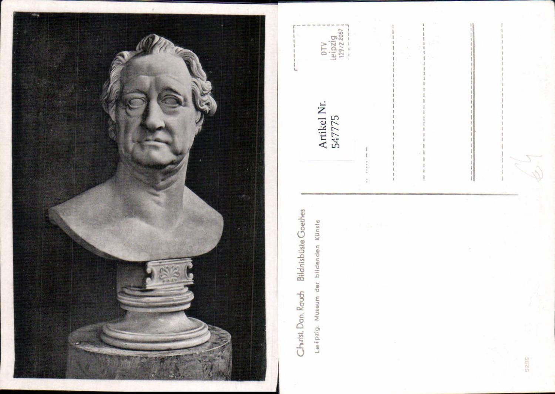 547775,Künstler AK Christ. Dan. Rauch Göthe Goethe Büste günstig online kaufen