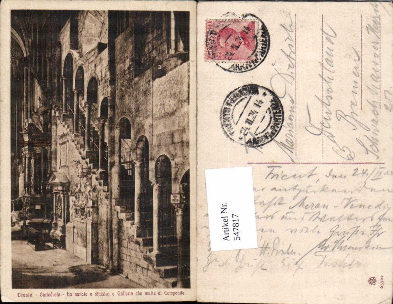 547817,Trentino Bolzano Trento Cattedrale günstig online kaufen