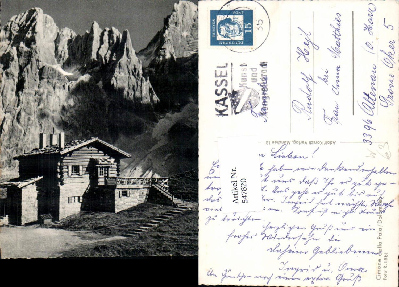 547820,Trentino Bolzano Cimone della pala Dolomiten Sexten günstig online kaufen