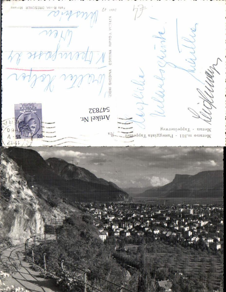 547832,Trentino Bolzano Meran Merano Tappeinerweg günstig online kaufen