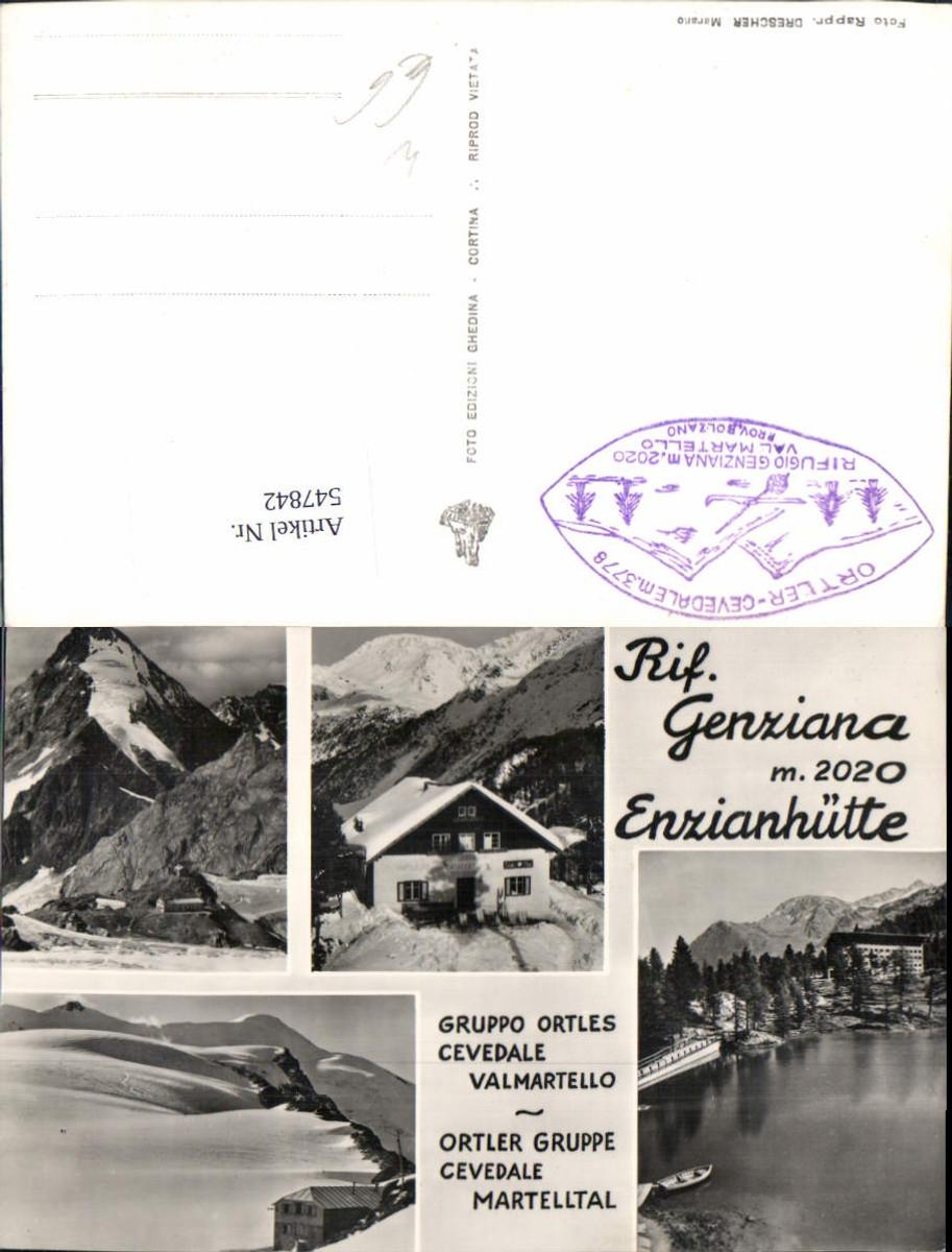 547842,Trentino Bolzano Rifugio Genziana Enzianhütte Martell Vinschgau günstig online kaufen