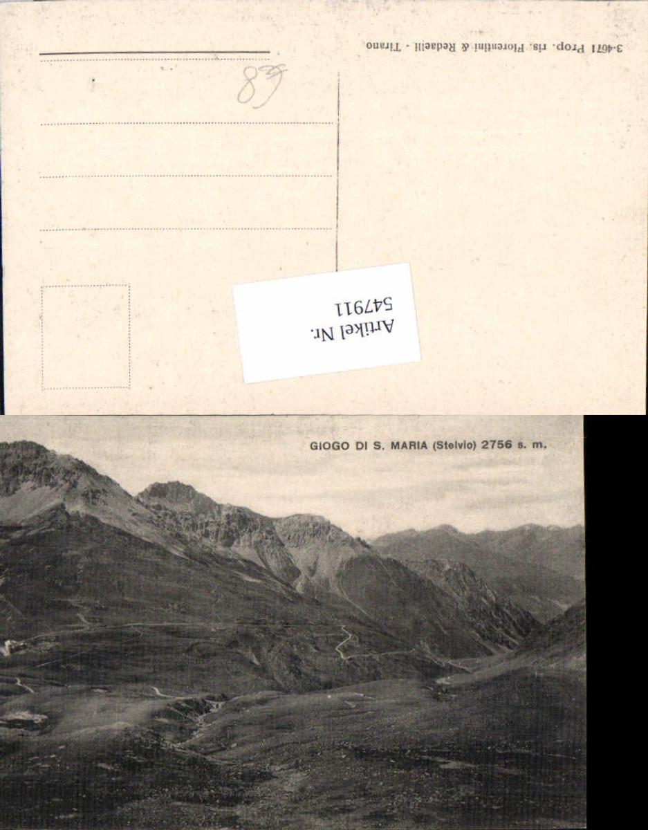 547911,Trentino Bolzano Giogo di Santa Maria Stelvio Stilfserjoch Sulden Trafoi Sondrio günstig online kaufen