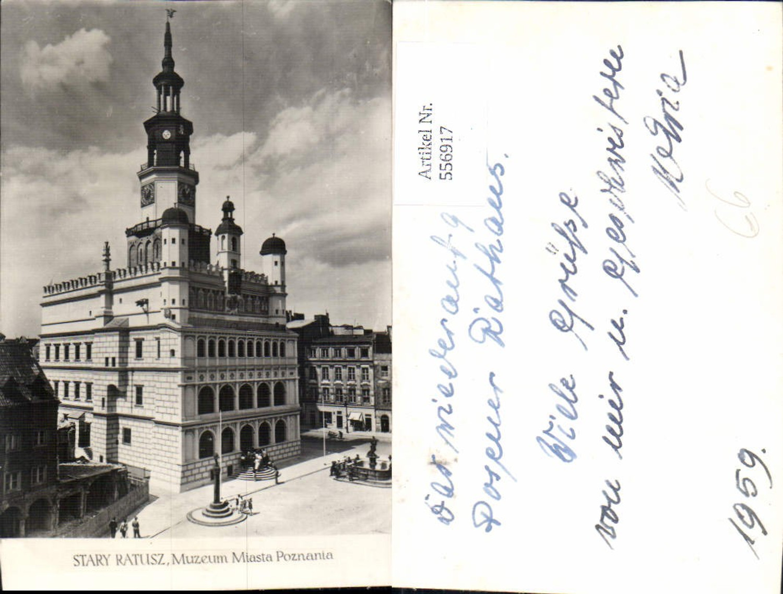 556917,Poland Stary Ratusz Museum Poznan Posen  günstig online kaufen