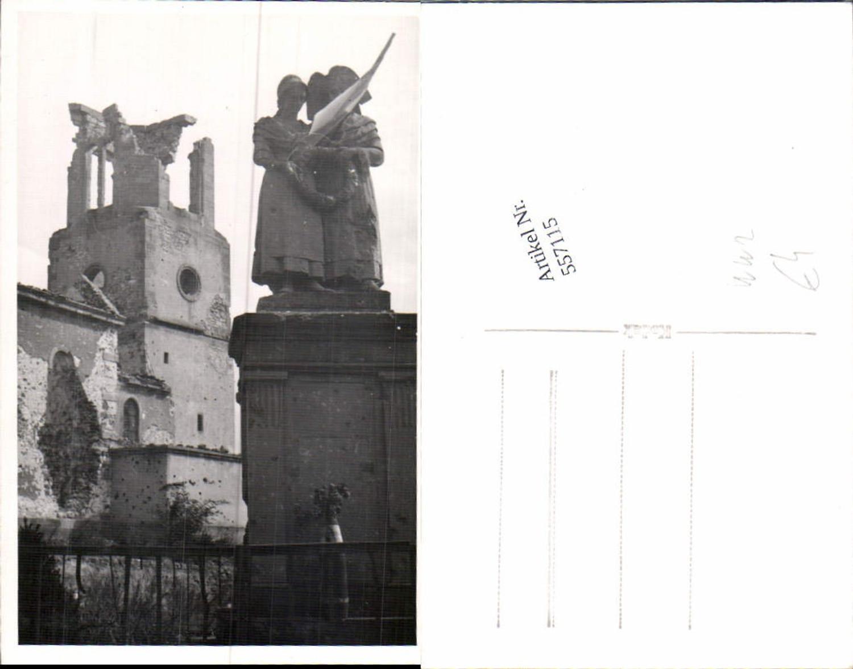 557115,zerstörte Kirche Denkmal  günstig online kaufen
