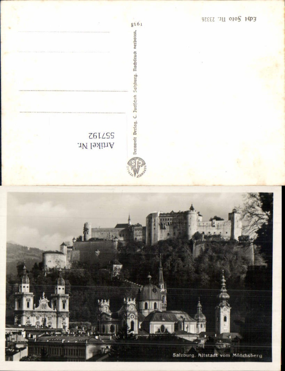 557192,Salzburg Stadt Altstadt Mönchsberg günstig online kaufen