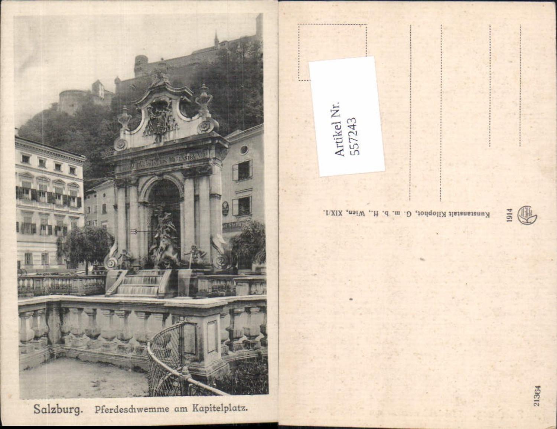 557243,Salzburg Stadt Pferdeschwemme Kapitelplatz pub Kilophot 21364 günstig online kaufen