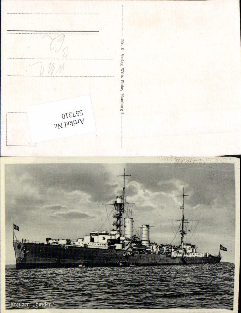 557310,Kriegsmarine Marine Kreuzer Emden Kriegsschiff  günstig online kaufen