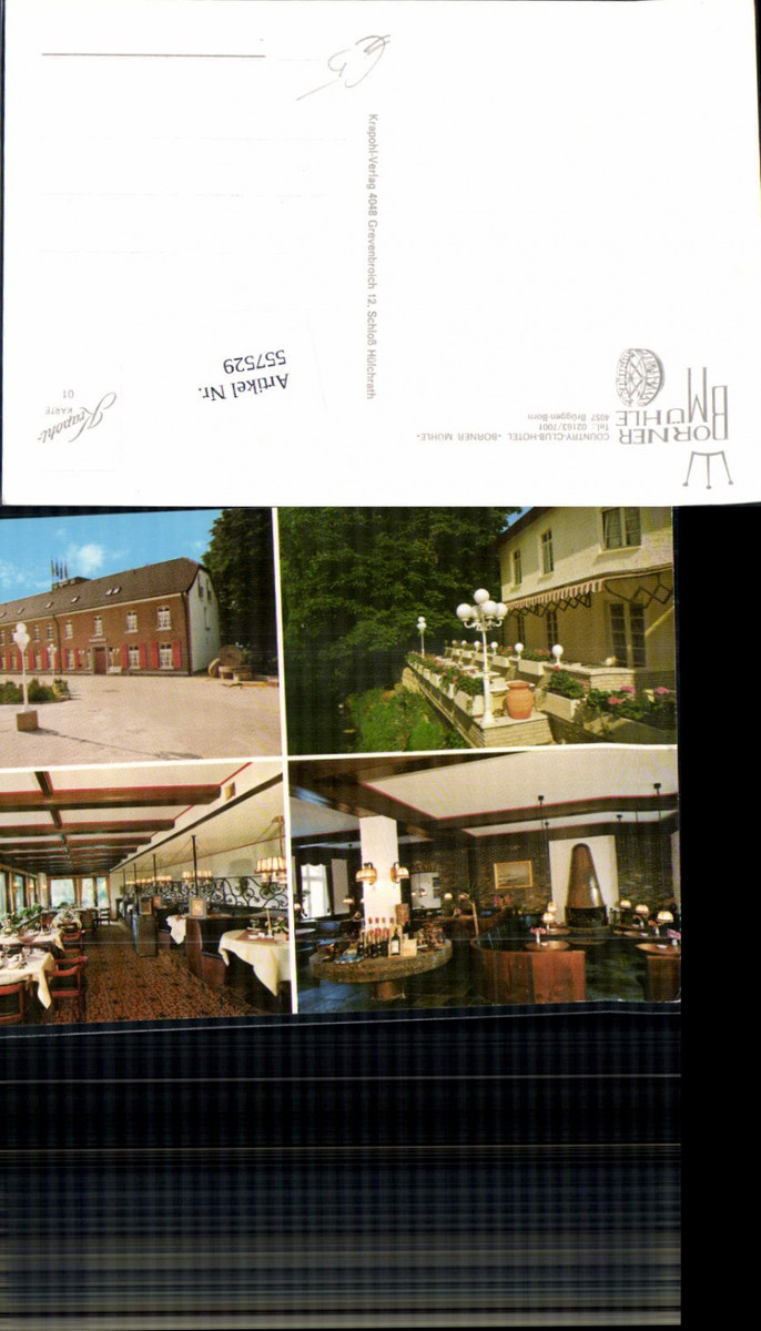 557529,Brüggen Born Hotel Borner Mühle LK Viersen günstig online kaufen