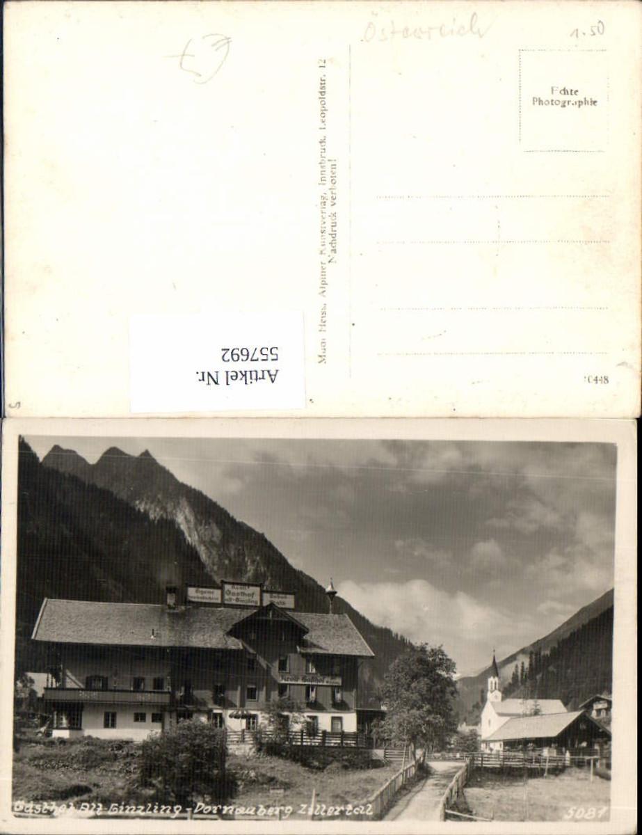 557692,Gasthaus Alt Ginzling im Zillertal Dornauberg Mayrhofen pub Much Heiss 5081 günstig online kaufen