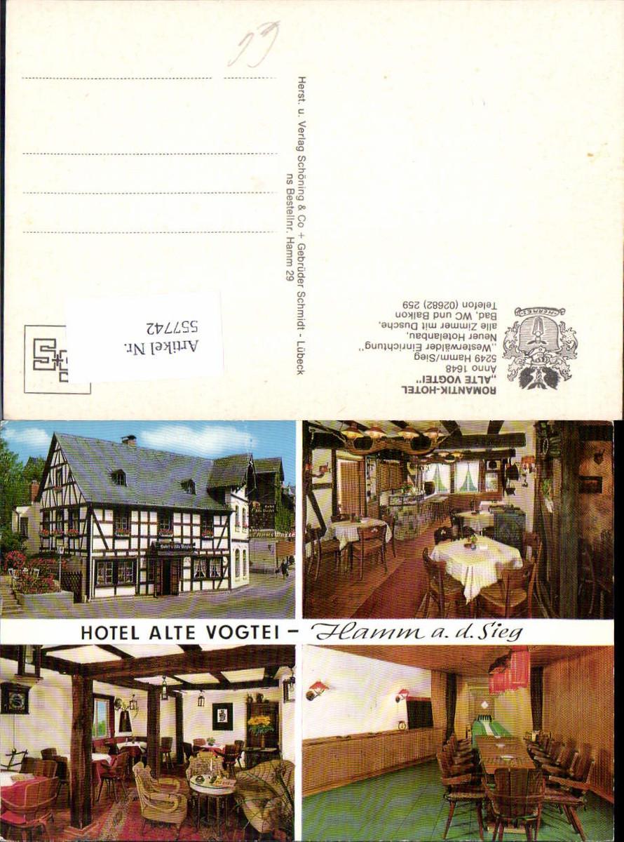 557742,Hamm an der Sieg Hotel Alte Vogtei LK Altenkirchen Westerwald günstig online kaufen