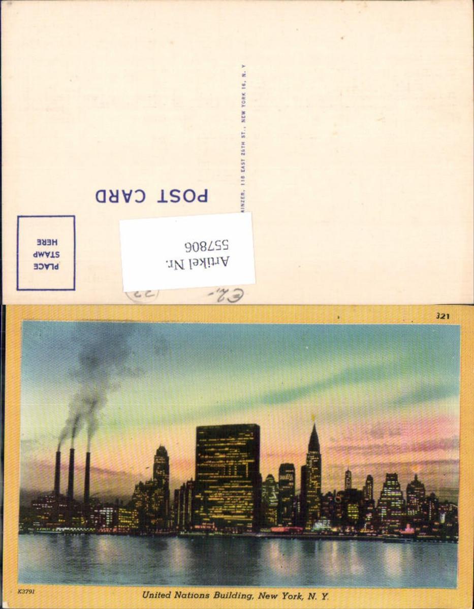 557806,New York City UNO Building günstig online kaufen