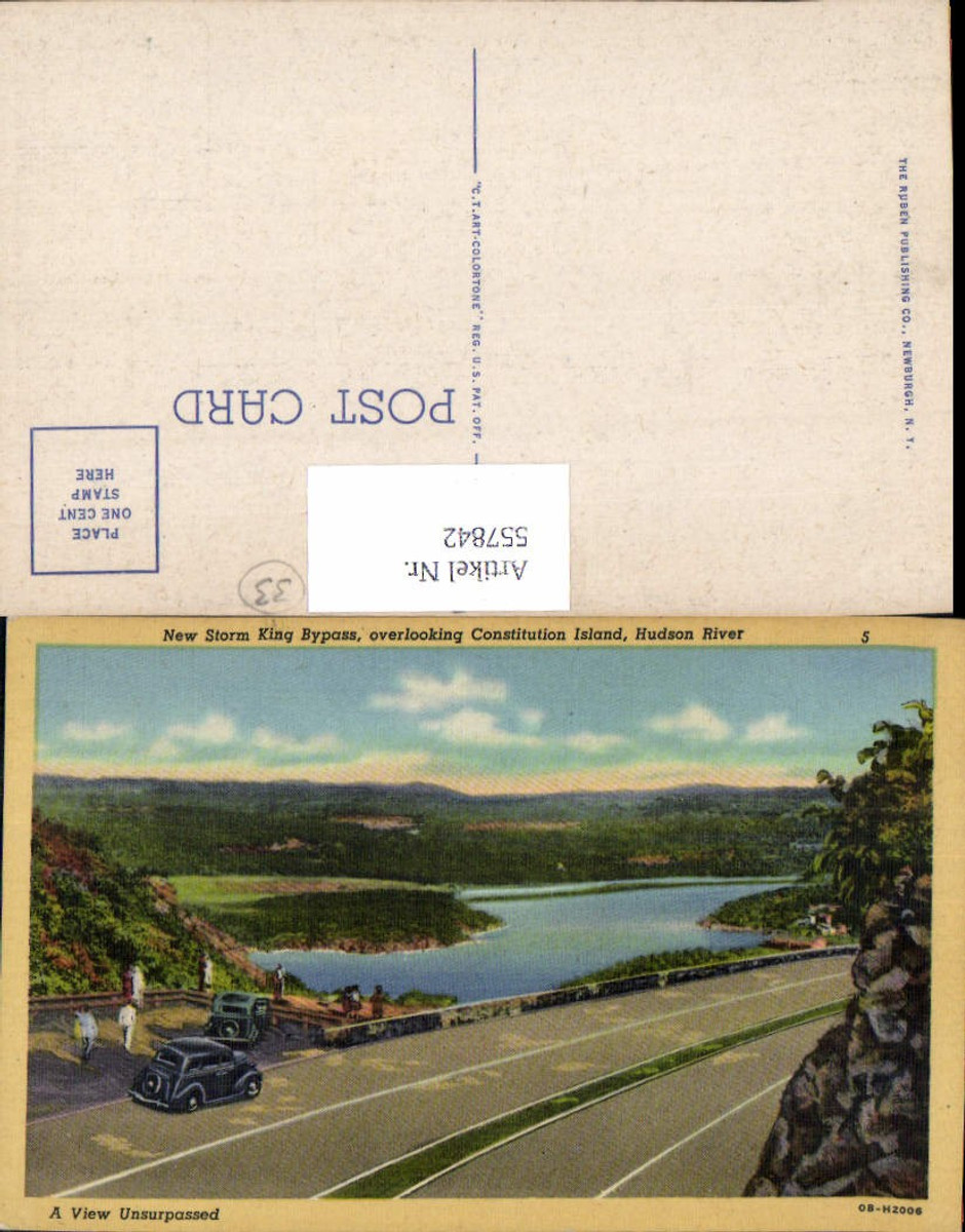 557842,New York City West Point Storm king Bypass Hudson River Constitution Island günstig online kaufen