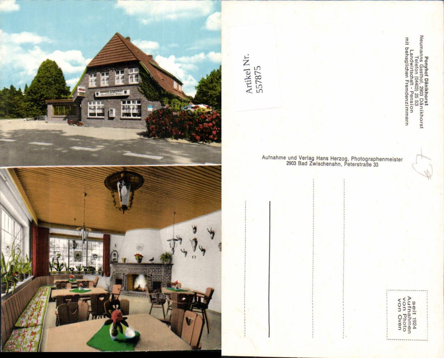 557875,Dänikhorst Bad Zwischenahn Neumanns Gasthof Ponyhof Dänikhorst Gaststube Kamin günstig online kaufen