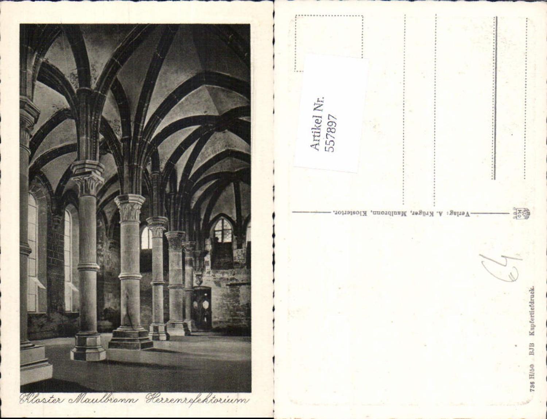 557897,Maulbronn Kloster Herrenrefektorium günstig online kaufen