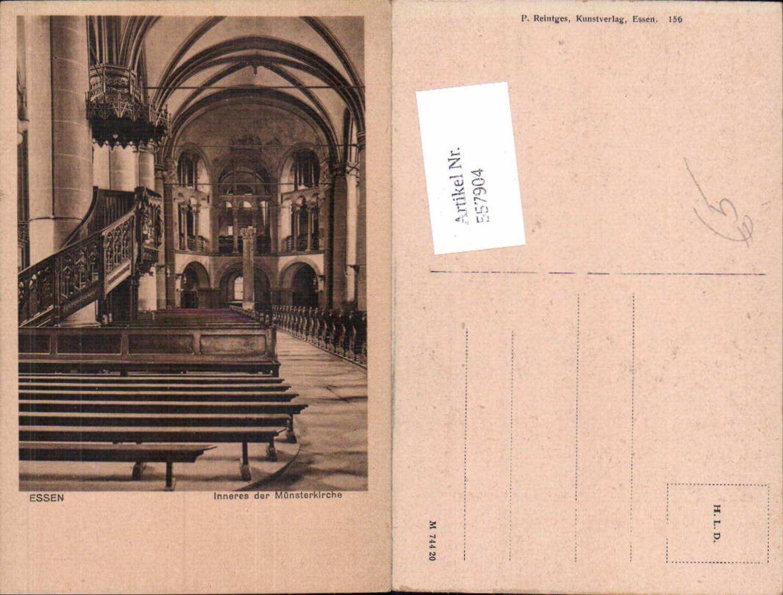 557904,Essen Inneres der Münsterkirche Chor Kanzel Religion günstig online kaufen