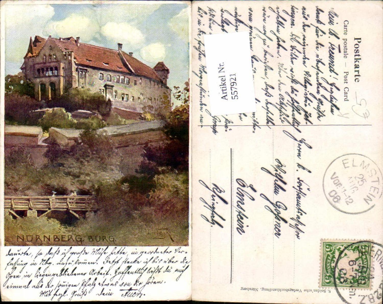 557921,Künstler Ak Q. Wiejk Nürnburg Burg günstig online kaufen