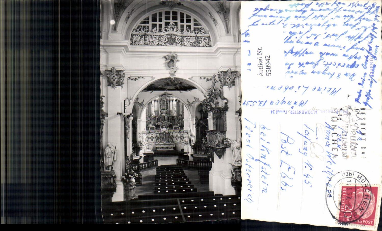 558942,Foto Ak Altomünster Kirche Innenansicht günstig online kaufen