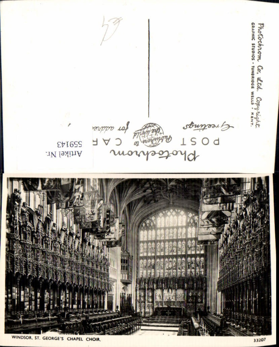 559143,England Windsor St George Chapel Choir günstig online kaufen